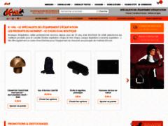 Vente en ligne d'équipements d'équitation