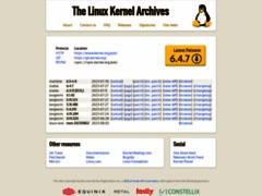 Robothumb : www.kernel.org
