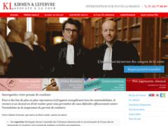 KL avocats : Cabinet Kirmen & Lefebvre - avocats à Paris