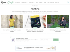 Free knitting patterns and instructions