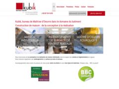 Création du site Internet de Kubik  (Entreprise de Constructeur de maison à SARREBOURG )