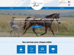 Lab To Field - Conseil en nutrition équine