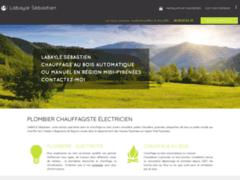 Création du site Internet de Labayle Sébastien (Entreprise de Chauffagiste à CAMPAN )
