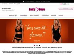 Ladylove.fr : Boutique en ligne de lingerie féminine