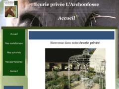 Ecurie privée L'Archonfosse