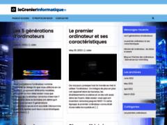 Site Détails : Le Grenier Informatique   L'informatique vintage des années 1980-1990