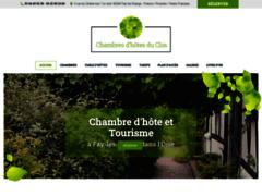 Création du site Internet de Vermeire Philippe (Entreprise de Gîtes et chambres d'hôtes à FAY LES ETANGS )