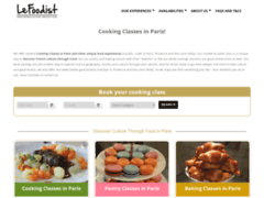 Le Foodist, Paris Cooking Class