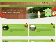 Création du site Internet de Le Pouilloux (Entreprise de Gîtes et chambres d'hôtes à MARCAY )