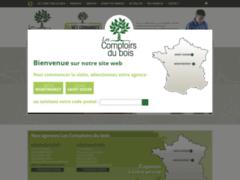 Site Détails : Les Comptoirs du Bois - construction en bois