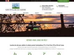 Création du site Internet de Les Cyclos du Loing (Entreprise de Parcs d'attractions et de loisirs à MORET SUR LOING )