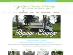 Création du site Internet de Les Jardins Hardy (Entreprise de Paysagiste à FRENEUSE )