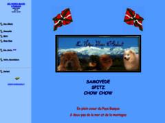 Elevage de chow chow, samoyéde et spitz