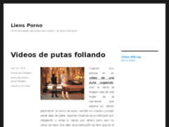 Blog sexe et extraits videos porno gratuites sur Liens Porno