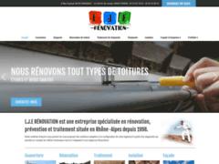 Création du site Internet de LJE RENOVATION (Entreprise de Couvreur à VOIRON )