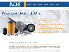 Création du site Internet de LLDA (Entreprise de Distribution de pièces automobile à ST BRIEUC )