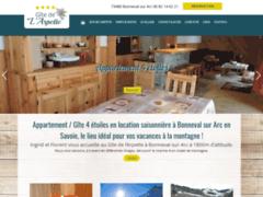 Création du site Internet de Le Chalet des Neiges (Entreprise de Constructeur de maison à BONNEVAL SUR ARC )