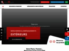Site Détails : Logikinov fabricant d'éléments extérieurs près de Caen