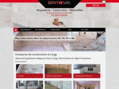 Création du site Internet de BRITO SAS (Entreprise de Maçon à OSNY )