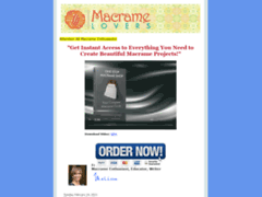 Macrame Lovers Blog