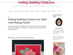 Making Greetings Cards