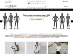 Site Détails : Mannequins online : boutique en ligne de mannequins vitrine