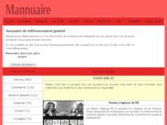 Mannuaire : annuaire gratuit sans lien retour