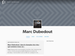 Marc Dubedout - Cover