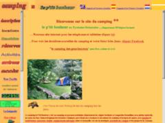 Camping p'tit bonheur en pleine nature