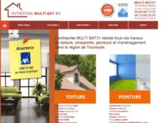 Création du site Internet de Multi Bat 31 (Entreprise de Couvreur à TOULOUSE )