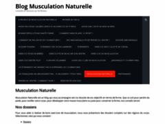 Blog sur la musculation