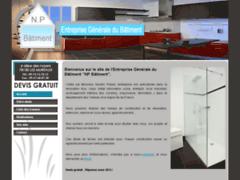 Création du site Internet de AB RENOV HABITAT (Entreprise de Peintre à LA COURNEUVE )