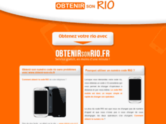 Le code RIO chez Virgin Mobile