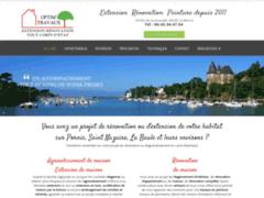 Création du site Internet de OPTIM'TRAVAUX (Entreprise de Courtier en travaux à LA BAULE )