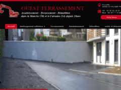 Création du site Internet de Ouest Terrassement (Entreprise de Terrassier à SAINT-HILAIRE-PETITVILLE )
