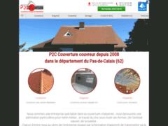 Création du site Internet de P2C Couverture (Entreprise de Couvreur à CAPELLE FERMONT )