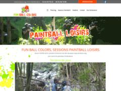 Création du site Internet de Fun Ball Colors (Entreprise de Club de sport à ENTRE-DEUX )