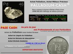 Consulter la fiche de Achat Palladium
