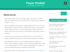 Paper Modelz