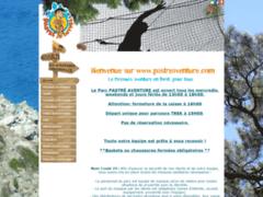 Création du site Internet de PARC PASTRE AVENTURE (Entreprise de Parcs d'attractions et de loisirs à MARSEILLE )