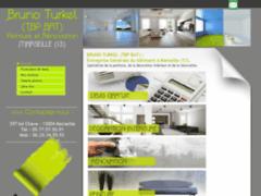 Création du site Internet de  BRUNO TURKEL  (TBP BAT) (Entreprise de Peintre à MARSEILLE )