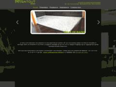Création du site Internet de PEYRATOUT (Entreprise de Carreleur à PUSIGNAN )