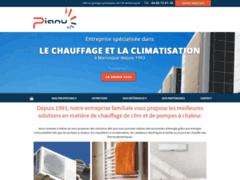 Création du site Internet de Sarl PIANU (Entreprise de Chauffagiste à MANOSQUE )