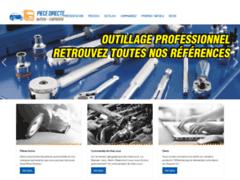 Création du site Internet de PIECE DIRECTE (Entreprise de Distribution de pièces automobile à LIBERCOURT )