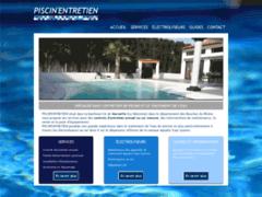 Site Détails : Spécialisée dans l'entretien et le traitement d'eau de piscine