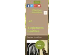 Plantes et créations insolites