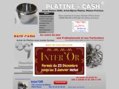Consulter la fiche de Achat Platine - Achat Platine Paris