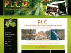Création du site Internet de P.L.C / PARCOURS LEMURIEN CONCEPT (Entreprise de Parcs d'attractions et de loisirs à GAP )