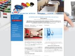Création du site Internet de ABM Déco Plomberie (Entreprise de Plombier à LA QUEUE EN BRIE )