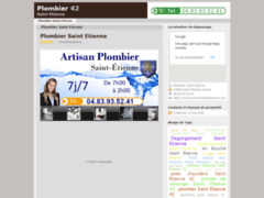 Plombier Saint Etienne